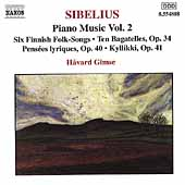 Sibelius: Piano Music Vol 2 / Håvard Gimse