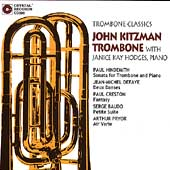 Trombone Classics / John Kitzman, Janice Kay Hodges