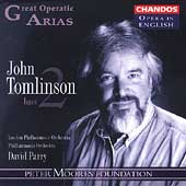 Opera in English - Great Operatic Arias Vol 8 / J. Tomlinson