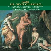 Handel: The Choice of Hercules / King, Gritton, Blaze, et al