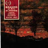 Brahms arranged by Berio and Schoenberg / Simon, Campbell