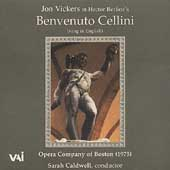 Berlioz: Benvenuto Cellini / Caldwell, Vickers, et al