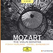 Mozart: The Violin Sonatas /Itzhak Perlman, Daniel Barenboim