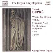 The Organ Encyclopedia -Dupré: Works for Organ Vol 13 /Baker