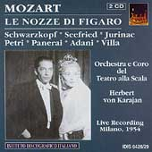 Mozart: Le nozze di Figaro / Karajan, Schwarzkopf, et al