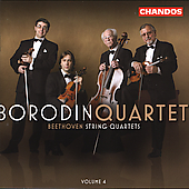 Beethoven: String Quartets Vol 4 / Borodin String Quartet