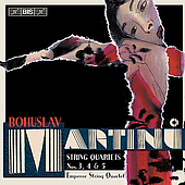 Martinu: String Quartets no 3, 4 & 5 / Emperor Quartet