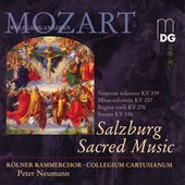 Mozart: Salzburg Sacred Music / Peter Neumann, et al