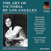 The Art of Victoria de los Angeles - Mozart, Puccini, etc