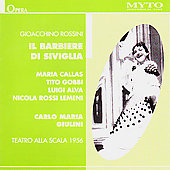 Historical- Rossini: Il barbiere di Siviglia/Giulini, Callas