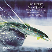 Schubert: Trout Quintet, etc / Mitchell, Lewis, et al