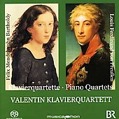 Mendelssohn, Preussen: Piano Quartets / Valentin Piano Quartet