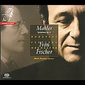 Mahler: Symphony no 4 / Iv&aacute;n Fischer, Miah Persson, Budapest Festival Orchestra