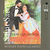 Saint-Saëns: Piano Quartets / Mozart Piano Quartet