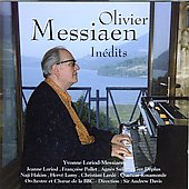 Oliver Messiaen: Inédits