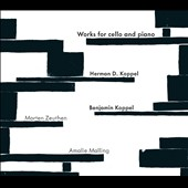Herman D. Koppel, Benjamin Koppel: Works for Cello & Piano / Zeuthen, cello; Malling, piano