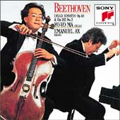 Beethoven: Sonatas for Cello & Piano Vol 2 / Ma, Ax