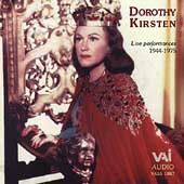 Dorothy Kirsten - Live Performances 1944-1975