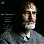 Helmut Lachenmann: Zwei Geuhfeul / Lauren Radnofsky, cello; Helmut Lachenmann, piano; voice