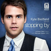 Stopping By: songs by Barber, Rorem, Beach, Griffes, Duke, Dougherty, Carter et al. / Kyle Bielfield, tenor; Lachlan Glen, piano; Michael Samis, cello