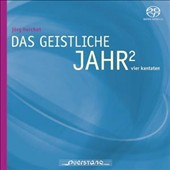 Jörg Herchet (b.1943): The Spiritual Year 2 - four cantatas / Hartmut Lissner, electronics; Franca Hartung, solo flute