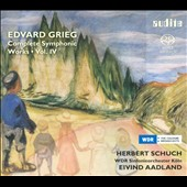 Grieg: Complete Symphonic Works, Vol. 4 - Symphony in C; Piano Concerto in A minor / Herbert Schuch, piano