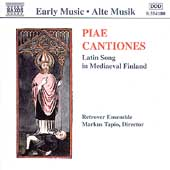 Early Music - Piae Cantiones / Tapio, Retrover Ensemble
