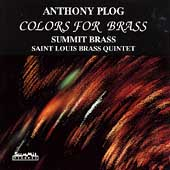 Colors for Brass - Plog / Summit Brass, Saint Louis Brass