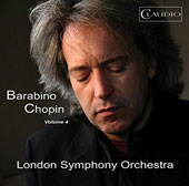 Chopin, Vol. 4 - Piano Concerto No. 2; Berceuse, Op. 57; Mazurkas (6) / Adolfo Barabino, piano; London SO, Lee Reynolds