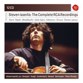 Steven Isserlis: The Complete RCA Recordings - Works of Faure, Haydn, Mendelssohn, Saint-Saens, et al. / Steven Isserlis, cello; Various Ensembles