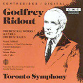 Ridout: Orchestral Works / Feldbrill, Toronto SO
