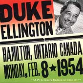 Duke Ellington: Live in Hamilton, Ontario Canada
