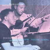 Rubinstein Collection Vol 7 - Albéniz, Franck, etc / Heifitz
