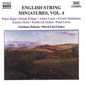 English String Miniatures Vol 4 / David Lloyd-Jones, et al