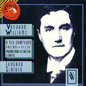Vaughan Williams: A Sea Symphony / Slatkin, Valente, Allen