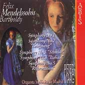 Mendelssohn: Symphonies 1-5 / Peter Maag, Madrid SO, et al