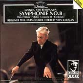 Karajan Gold - Beethoven: Symphonie no 8, etc / Berlin PO