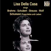 Lisa Della Casa sings Brahms, Schubert, etc