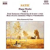 Satie: Piano Works Vol 1 / Klára Koermendi
