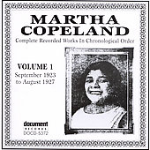 Martha Copeland: Complete Recorded Works, Vol. 1 (1923-1927)