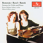 Bernstein, Ravel, Bart&oacute;k: Violin Sonatas / Sulem, Guly&aacute;s