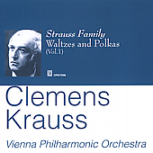 Strauss Family: Waltzes & Polkas, Vol 1/ Clemens Kraus,et al