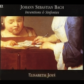 Bach: Inventions & Sinfonies / Elisabeth Joy&#233;