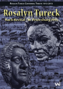 Rosalyn Tureck: Bach Recital at St Petersburg & Lecture [DVD]