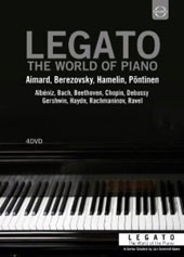 Legato: The World of the Piano, series / Portraits, Live Concerts & Interviews of Aimard, Berezovsky, Hamelin & Pontinen [4 DVD]