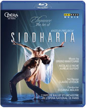 Elegance, The Art of Angelin Preljocaj - Bruno Mantovani: Siddharta, ballet / Paris National Ballet & Orch., Susanna Malkki (live, 2010) [Blu-ray]