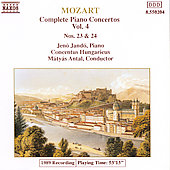 Mozart: Piano Concertos Vol. 4