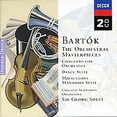 Bartok: Concerto For Orchestra, Music For Strings, Percussion And Celesta, Etc.