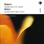 Wagner: Symphony In C Major/Weber: Symphonies Nos. 1 & 2