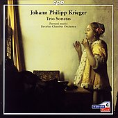 Krieger: Trio Sonatas / Bavarian Chamber Orchestra, et al